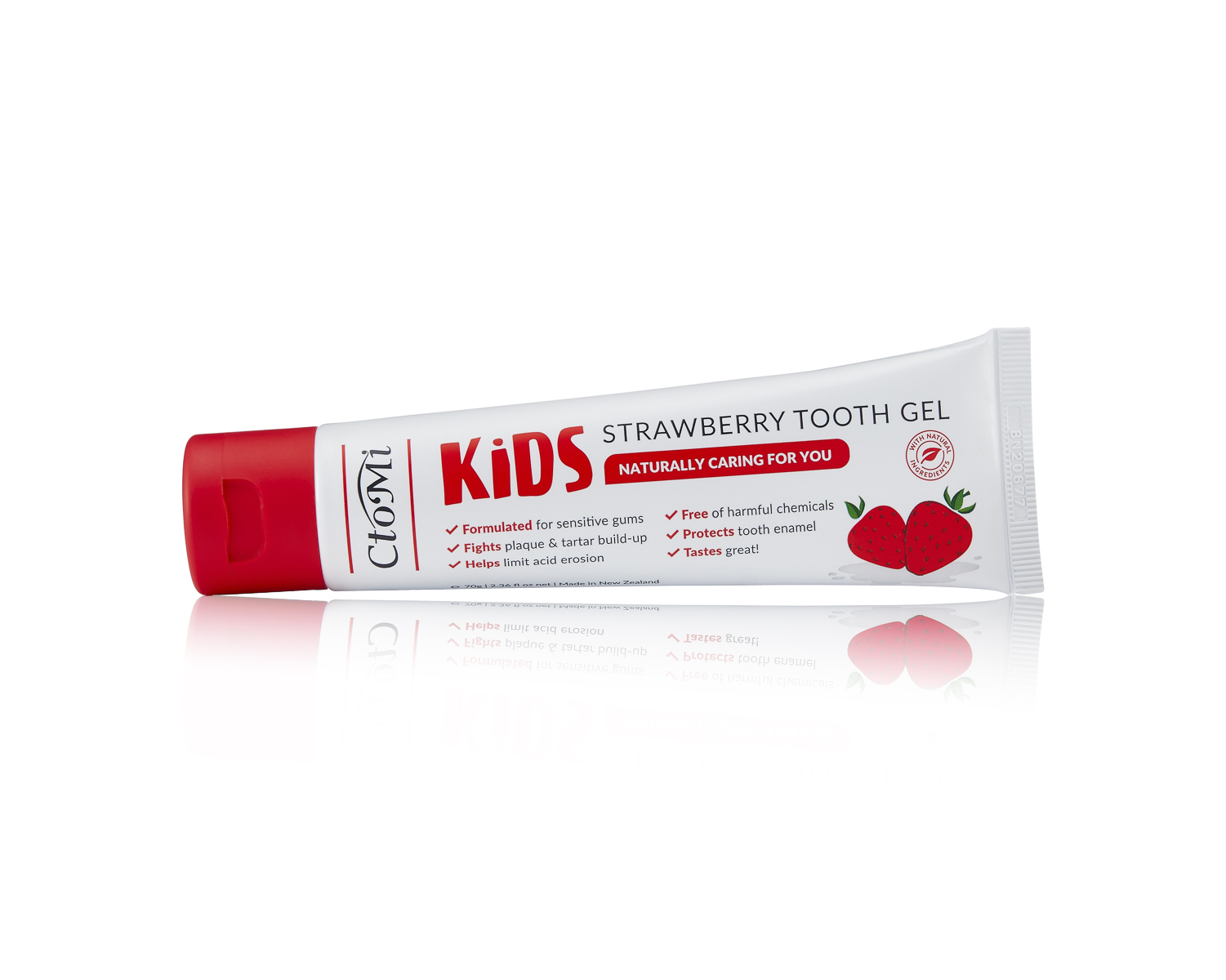 KIDS STRAWBERRY TOOTH GEL