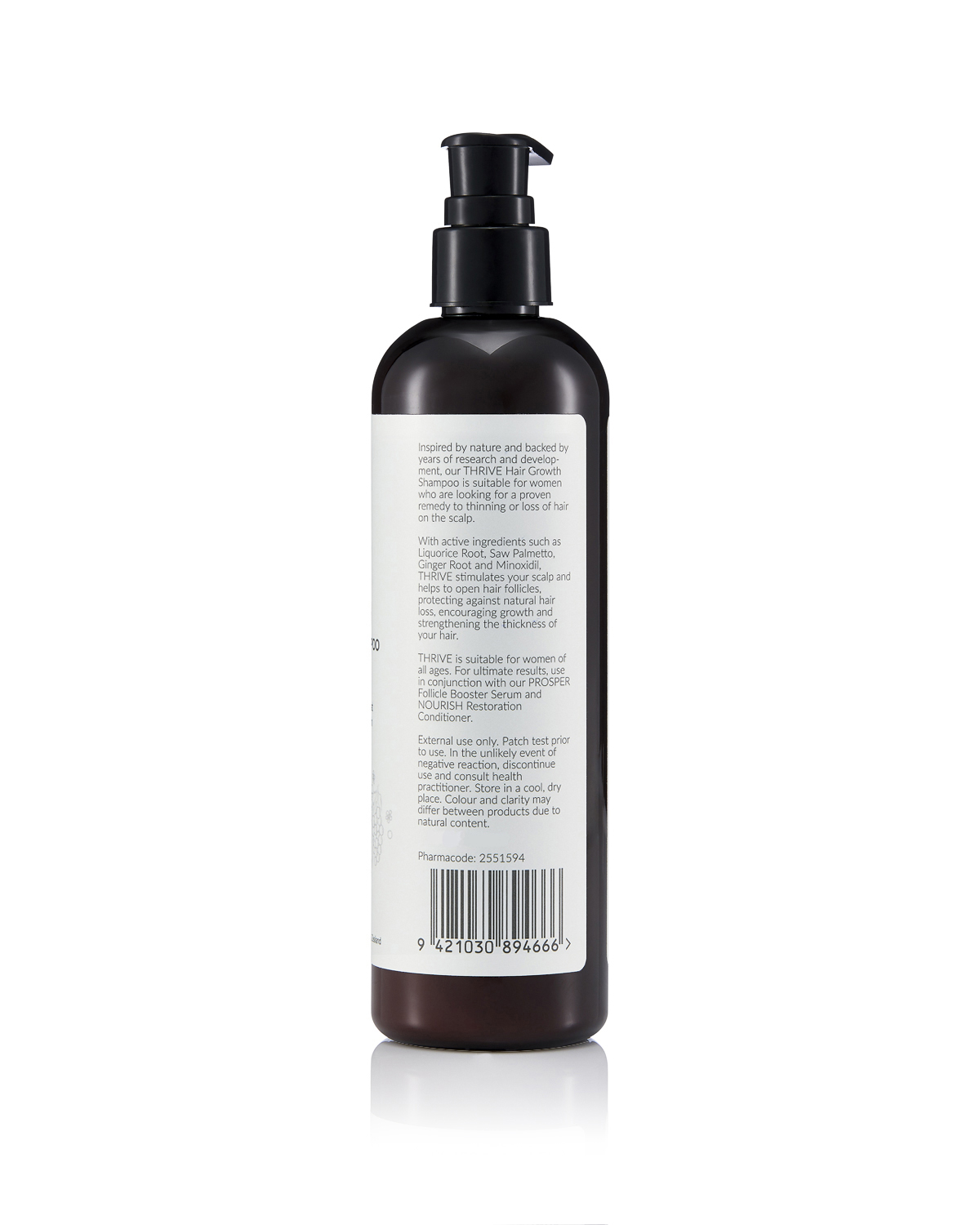 THRIVE HAIR GROWTH SHAMPOO FOR WOMEN 300ML